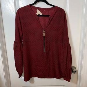 Michael Kors Long Sleeve Blouse XL